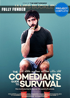 Comedians Guide To Survival starring James Buckley