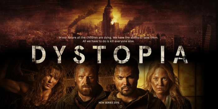 DYSTOPIA – new Sci Fi TV show from Paul Tanter