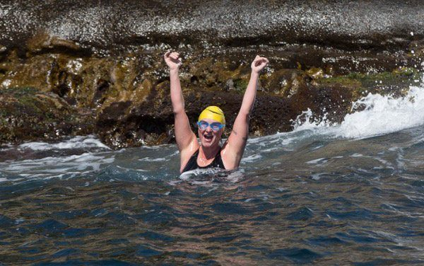 Beth Completes the Gibraltar Strait 'Elated and on Fire.'