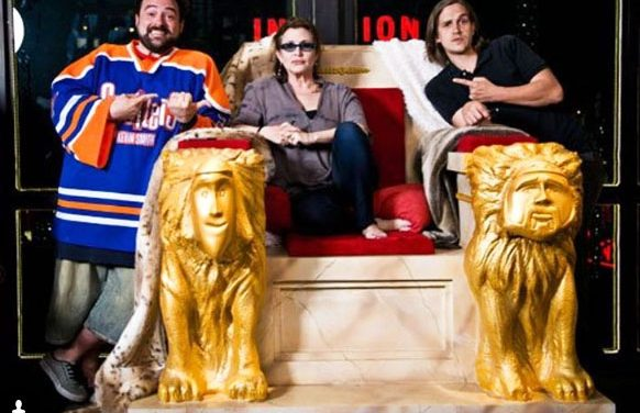 """Kevin Smith Pays Loving Tribute to Carrie Fisher: """"The Princess Stole My Heart at Age 7."""""""