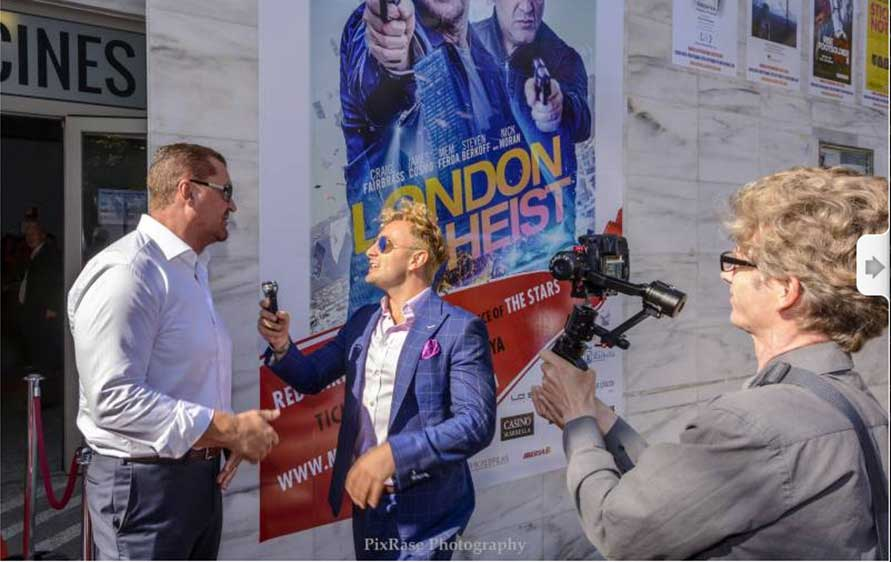 Craig Fairbrass at the Marbella Film Festival