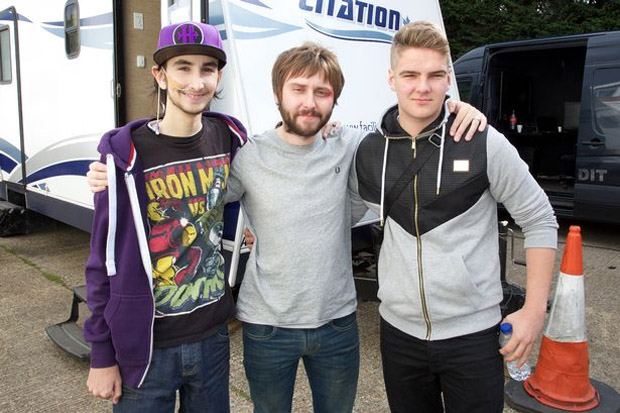 Rays of Sunshine members meet James Buckley