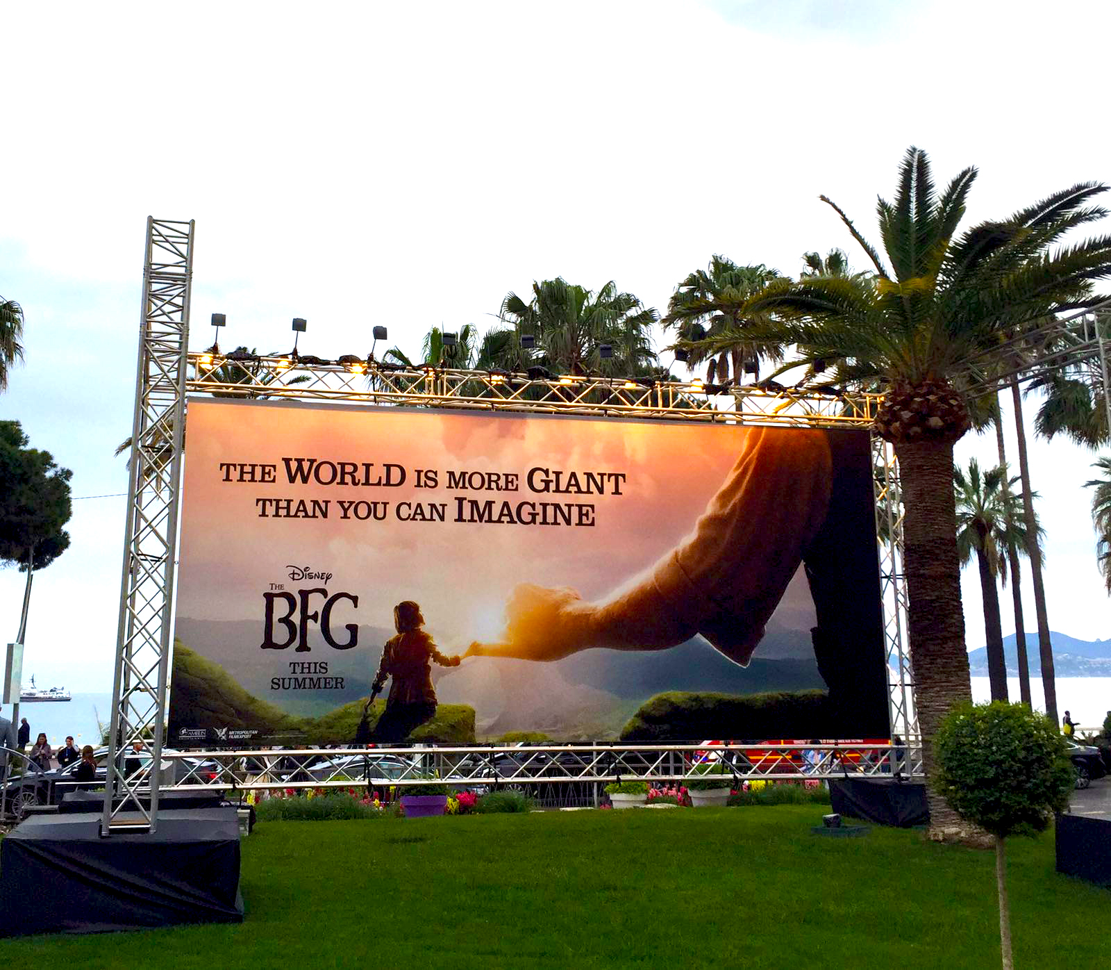 BIG Cannes Film Festival with Red Rock Entertainment.