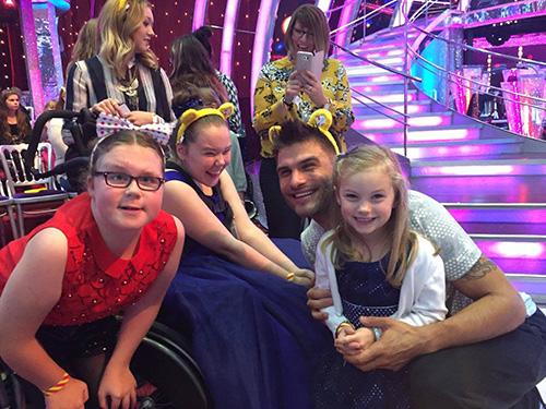Red Rock Entertainment makes 3 young girls strictly sparkling wish come true.
