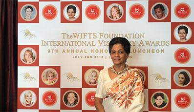 Indira Malwatte Wins Lifetime Achievement Award.
