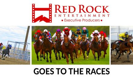 Red Rock Entertainment sponsors ATALANTA FILLIES' STAKES Race at Sandown Park Races.