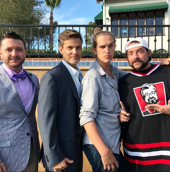 Casper van dien, Jason Mewes, Kevin Smith. Madness In The Method. Red Rock Entertainment.