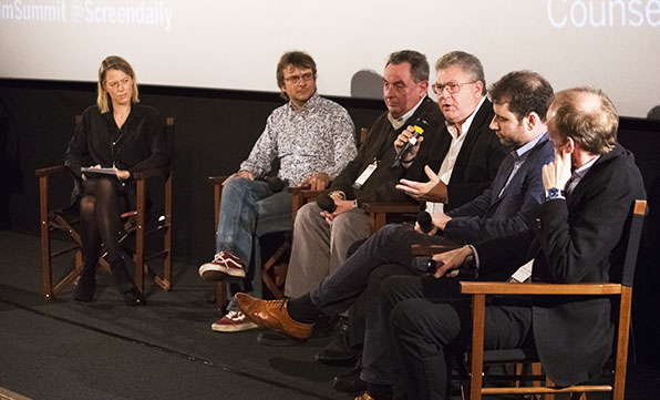 Media Business Insight. Screen Film Summit at Picturehouse Central, London, 2016.