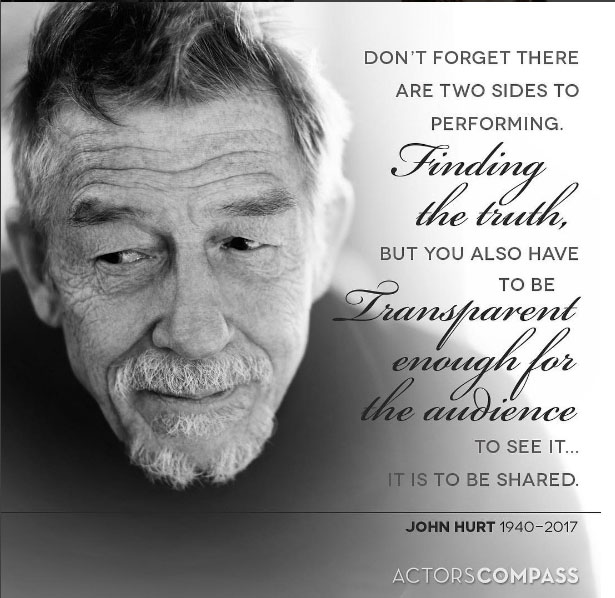 Farewell to a Hollywood legend: Sir John Hurt, tributes pour in to 'the most gentlemanly of gentlemen'