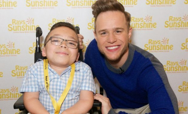 OLLY MURS MAKES DREAM COME TRUE FOR LEEDS YOUNGSTER.