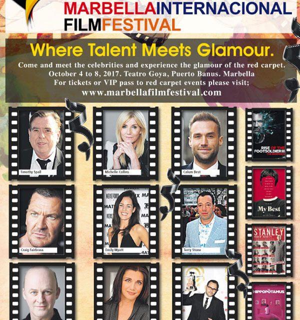 EXCLUSIVE: The glitz and glitter of the Marbella International Film Festival returns.