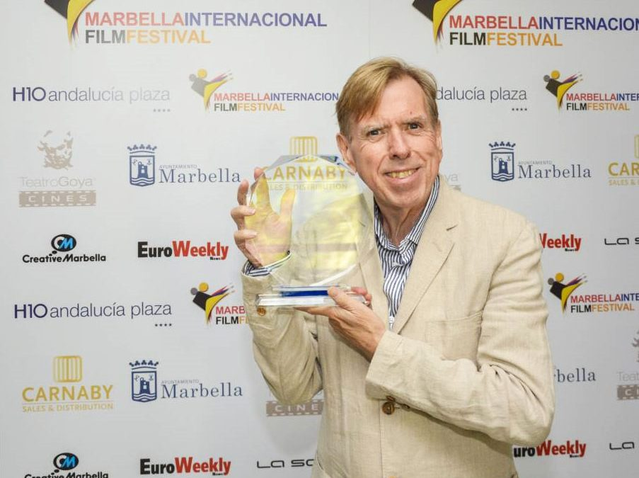 Great Success for Red Rock Entertainment, as Timothy Spall was awarded with Best Actor at The Marbella Film Festival.