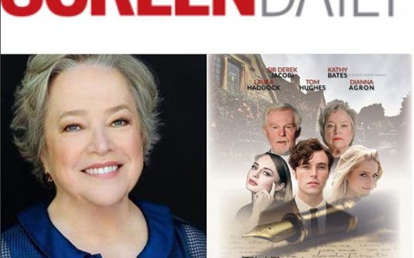 Screen Daily: Kathy Bates joins Robert Graves drama 'The Laureate' (exclusive)