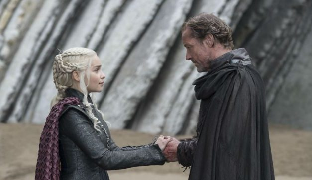 Game Of Thrones: Iain Glen Teases Potential Romance for Jorah and Daenerys in Season 8
