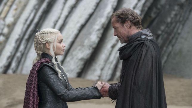 Game Of Thrones: Iain Glen Teases Potential Romance for Jorah and Daenerys in Season8