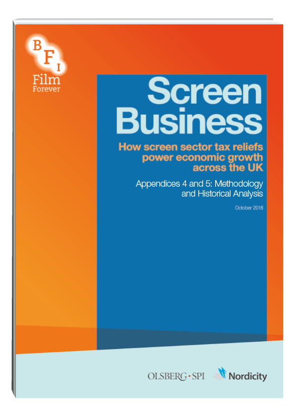 How screen sector tax reliefs power economic growth across the UK, Appendices 4 & 5