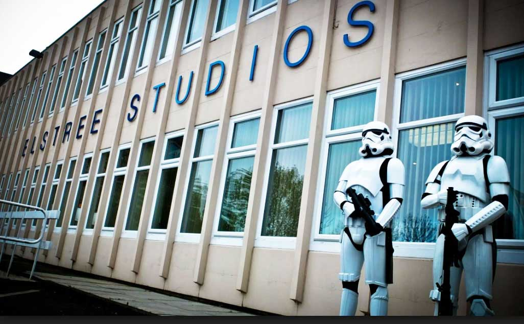 Red Rock Entertainment home at Elstree Studios.