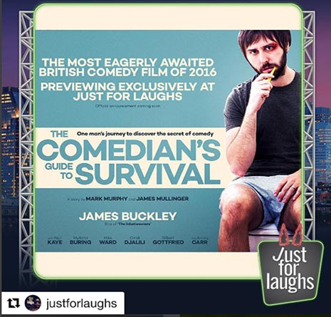 Comedians Guide, James Mulligner, James Buckley. Red Rock Entertainment
