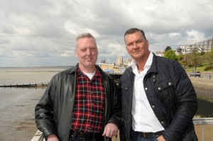 Craig Fairbrass and Paul Cotgrove in Southend