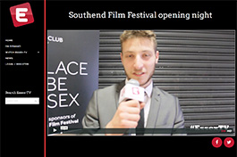 Essex TV Southend Film Festival opening night post