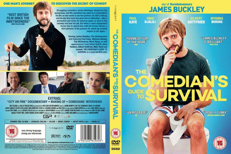 Comedians Guide To Survival poster.