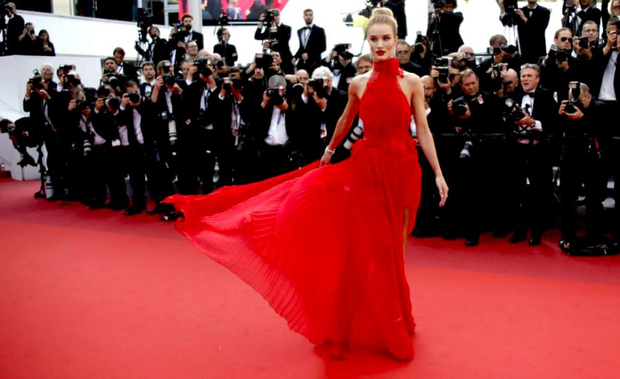 Rosie and Red Carpet Glamour with Red Rock Entertainment, at Cannes Film Festival.