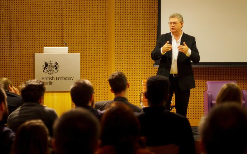Gary Collins, CEO OF Red Rock Entertainment, Judge and Speaker at The Berlinale Film Festival.