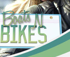 Our American Series Boats N Bikes starts on Sky.