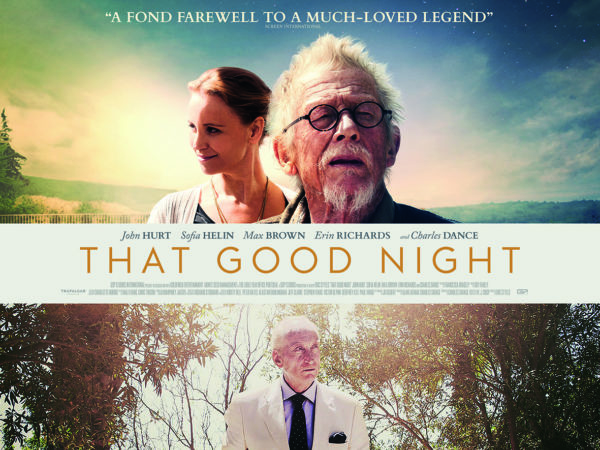 That Good Night set for release in May, featuring John Hurt's last leading role.