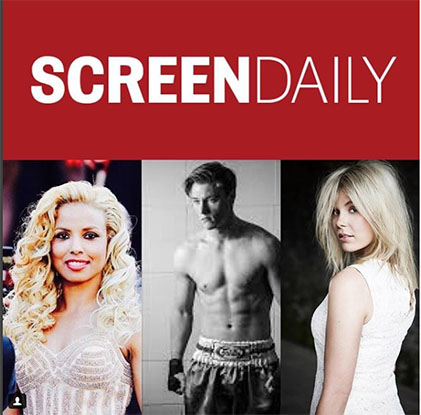 3 Actors, from 3 of our Movies,  selected for the 2018 Screen Genre Rising Star Award.