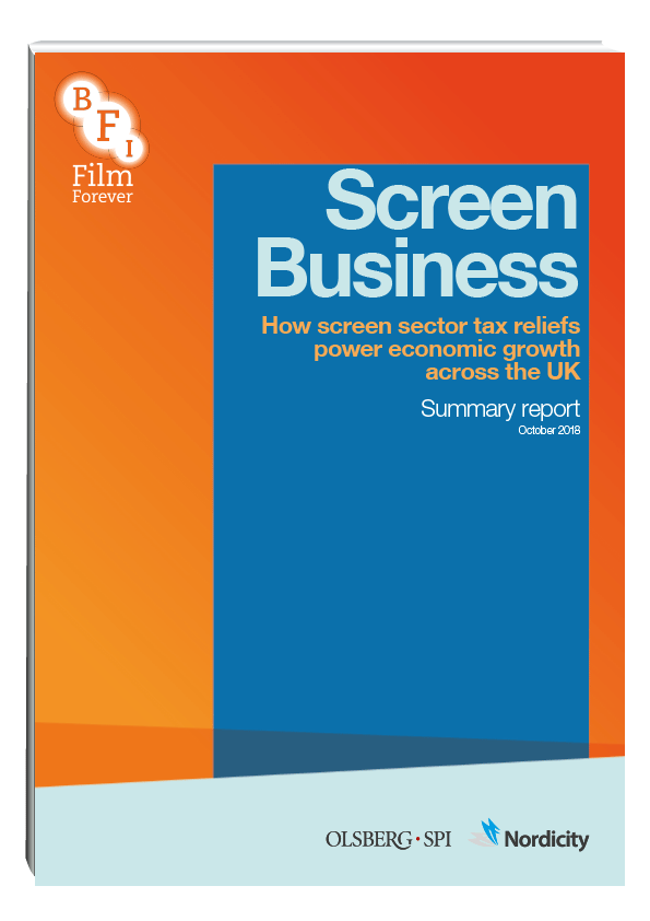 How screen sector tax reliefs power economic growth across the UK, Summary Report
