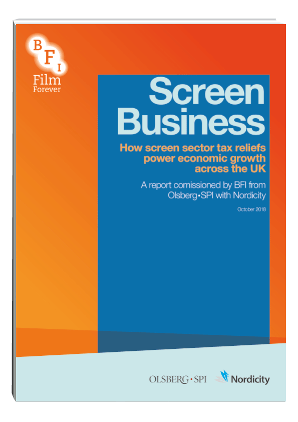 How screen sector tax reliefs power economic growth across the UK