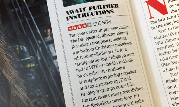 4 * Review for Await Further Instructions.
