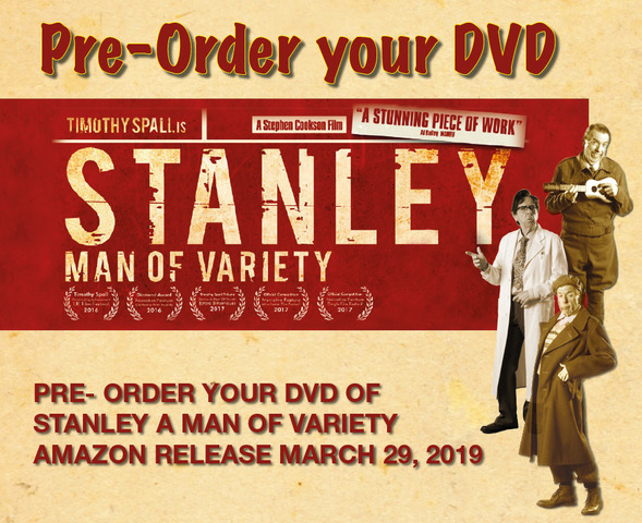 Award winning Stanley a Man of Variety coming soon on DVD.