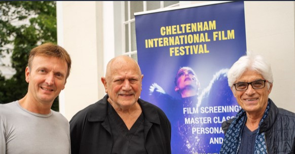 Steven Berkoff wins award at Cheltenham Film Festival.