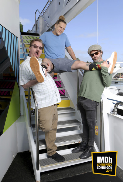 IMDB BOAT at Comic Con with Jason Mewes, Kevin Smith and Mickey Gooch.