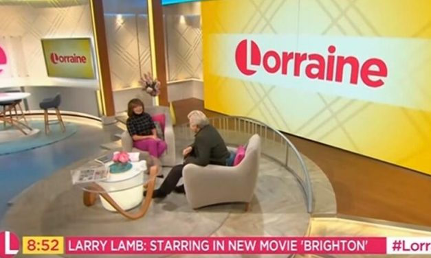 Larry Lamb's Interview on ITV with Lorraine.
