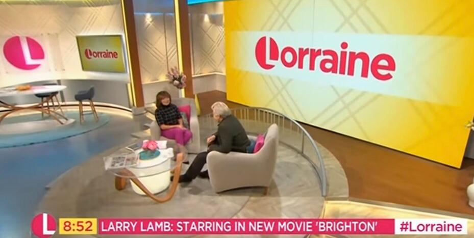 Laugh with Larry Lamb on Christmas day!