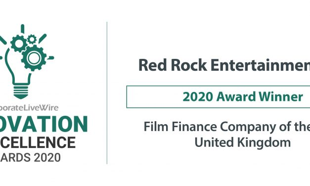Red Rock Entertainment Ltd Wins Film Finance Company Of The Year.
