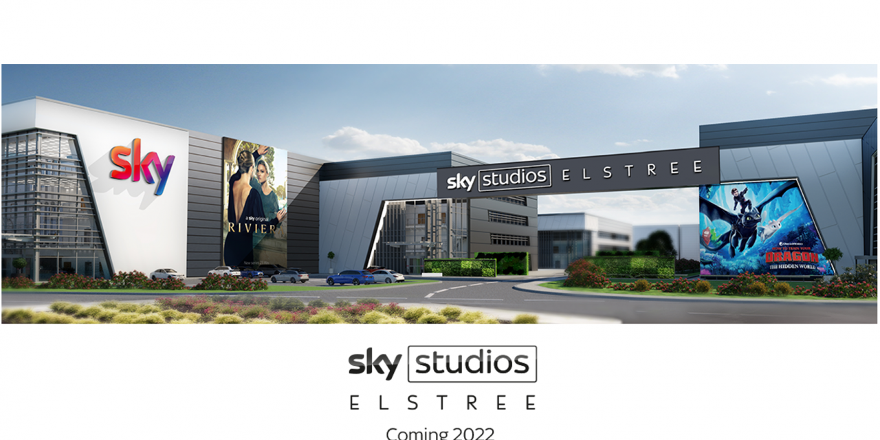 Sky Studios Elstree to start construction this month.